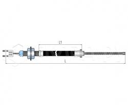 Трос стояночного тормоза - Тип 6