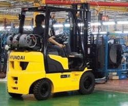 Газ-бензиновый погрузчик Hyundai 15L(G)-7M