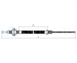 Трос стояночного тормоза - Тип 2