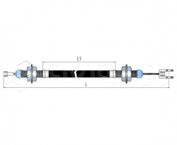 Трос стояночного тормоза - Тип 4